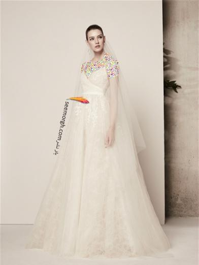 لباس عروس 2018 از برند الی ساب لباس Elie Saab برای بهار و تابستان - مدل شماره 10