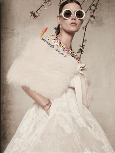 لباس عروس 2018 از برند الی ساب لباس Elie Saab برای بهار و تابستان - مدل شماره 9