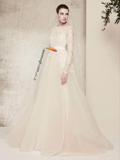 لباس عروس 2018 از برند الی ساب لباس Elie Saab برای بهار و تابستان - مدل شماره 8