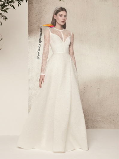 لباس عروس 2018 از برند الی ساب لباس Elie Saab برای بهار و تابستان - مدل شماره 7
