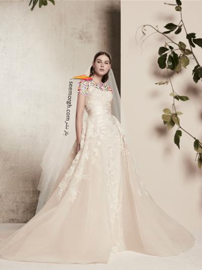 لباس عروس 2018 از برند الی ساب لباس Elie Saab برای بهار و تابستان - مدل شماره 6