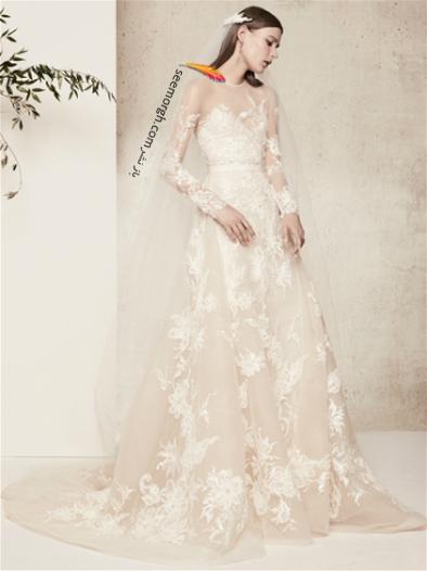 لباس عروس 2018 از برند الی ساب لباس Elie Saab برای بهار و تابستان - مدل شماره 5