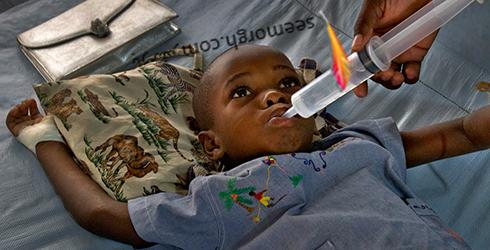 کودک مریض,کودک افریقایی,کودک سیاه پوست