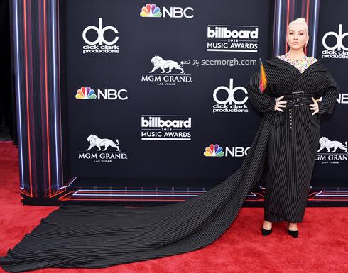 مدل لباس کریستینا آگیلرا Christina Aguilera در مراسم جوایز بیلبورد 2018 Billboard Music Awards