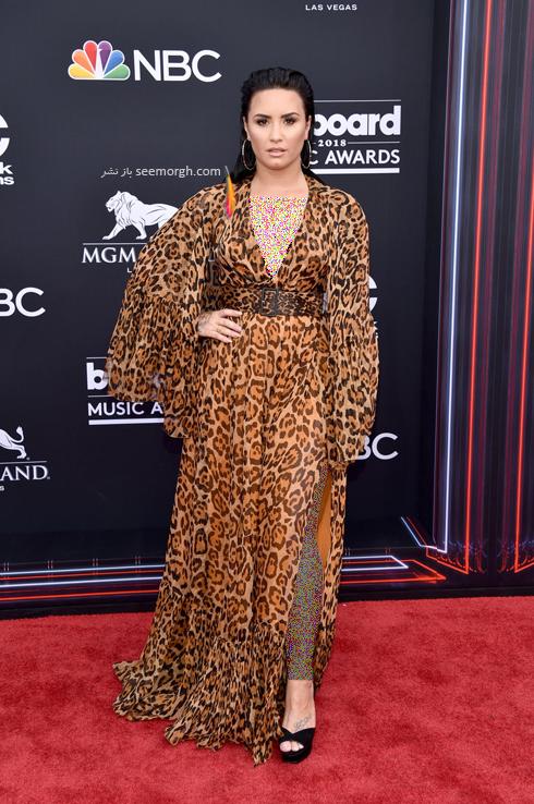 مدل لباس دمی لوواتو Demi Lovato در مراسم جوایز بیلبورد 2018 Billboard Music Awards