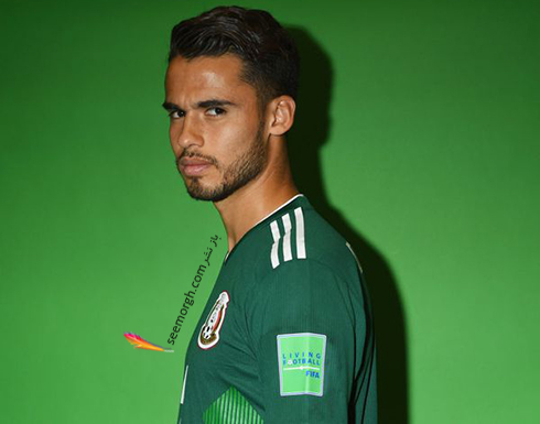 مدل مو,مدل مو بازیکنان در جام جهانی,مدل مو بازیکنان در جام جهانی 2018,مدل مو دیگو ریز Diego Reyes از تیم مکزیک در جام جهانی 2018