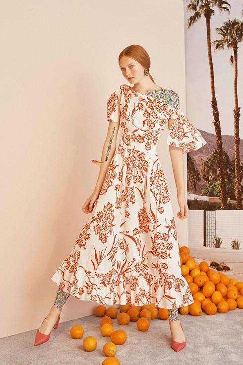 مدل لباس,جدیدترین مدل لباس,جدیدترین مدل لباس زنانه,مدل لباس زنانه از برند کارولینا هررا Carolina Herrera