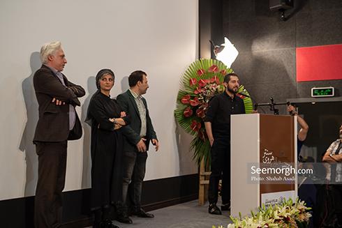 حضور  عوامل فیلم در وجه حامل در مراسم افتتاحیه پردیس سینمایی هروی