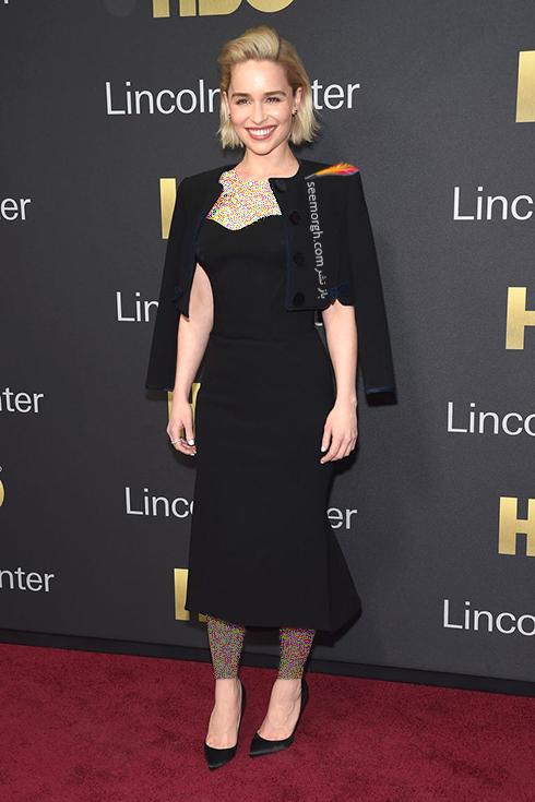 مدل لباس امیلی کلارک Emilia Clarke در هفته مد