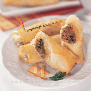 طرز تهیه فینگر فود گوشت و سبزیجات برای افطار ماه رمضان