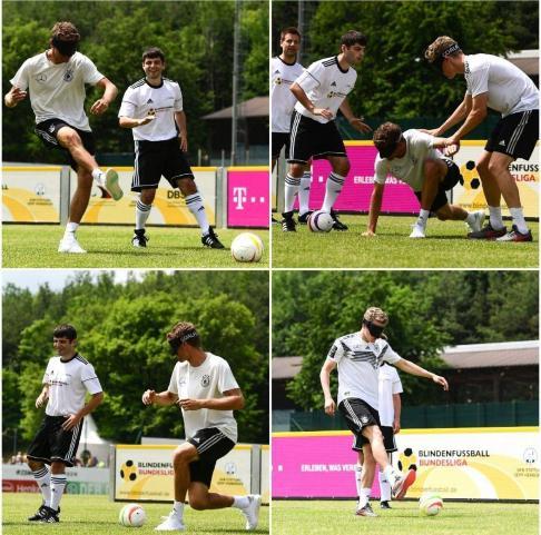 تمرین بازیکنان تیم ملی آلمان