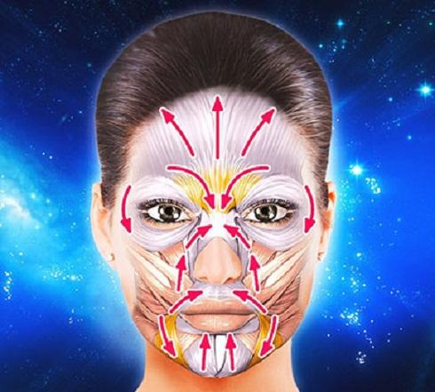 جوان سازی پوست صورت با ژیمناستیک یا یوگا