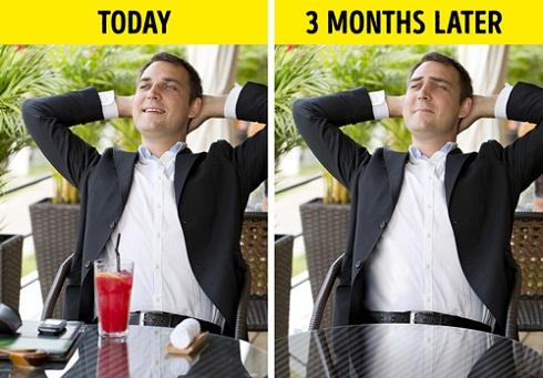 اگر کار نداشته باشید بیشتر از ۳ ماه نمی توانید دوام بیاورید