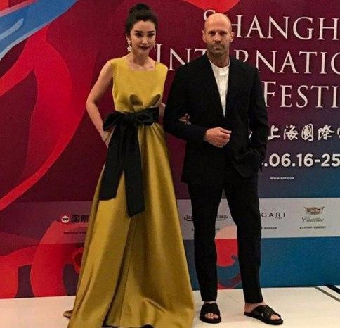عکس جیسون استاتهام در فستیوال فیلم شانگهای