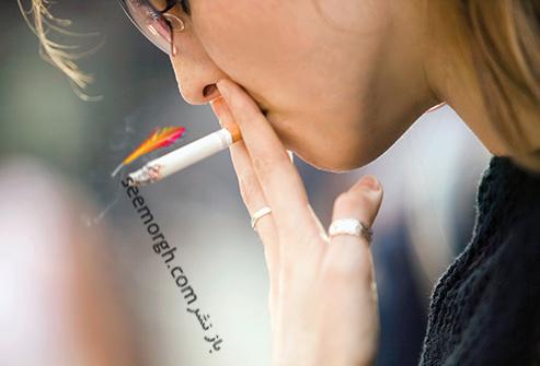 سیگار کشیدن,زنی که سیگار می کشد,سیگار