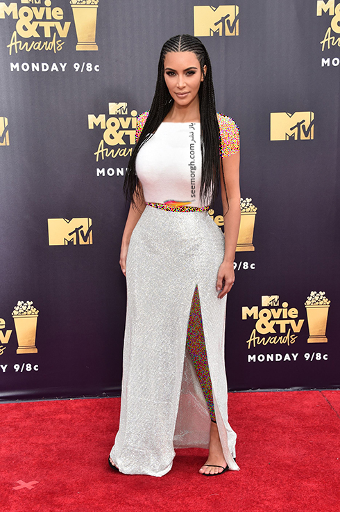 مدل لباس در MTV Awards 2018 - کیم کارداشیان Kim Kardashian