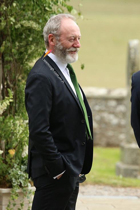 مراسسم عروسی رز لزلی,مراسم عروسی رز لزلی و کیت هرینگتون در اسکاتلند,Liam Cunningham در مراسم عروسی رز لزلی Rose Leslie و کیت هرینگتون Kit Harington