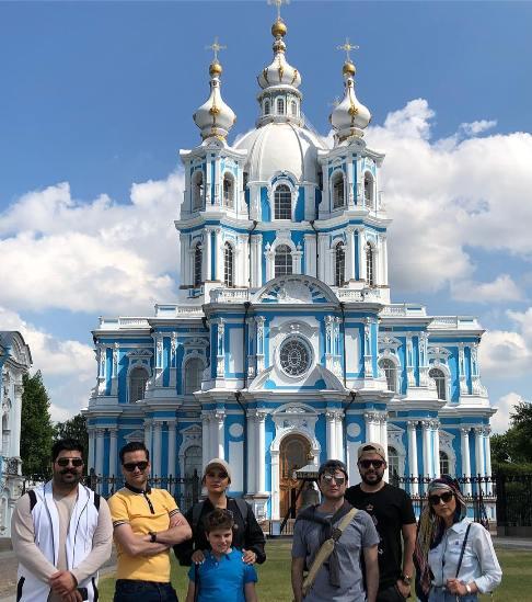 بازیگران و هنرمندان در روسیه