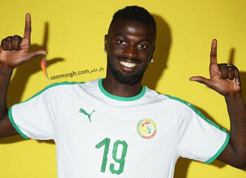 مدل مو,مدل مو بازیکنان در جام جهانی,مدل مو بازیکنان در جام جهانی 2018,مدل مو ام بیانگ Mbaye Niang از تیم سنگال در جام جهانی 2018
