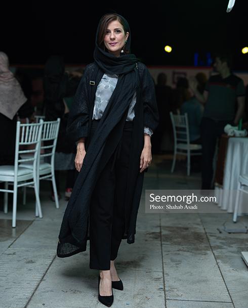 مدل مانتو بلند 2018 - سارا بهرامی