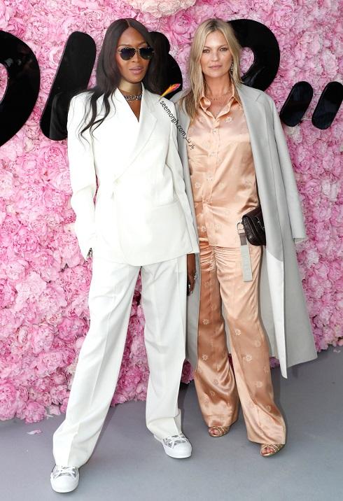 مدل کت و شلوار,نائومی کمبل,دیور,مدل لباس,جدیدترین مدل لباس,مدل لباس 2019