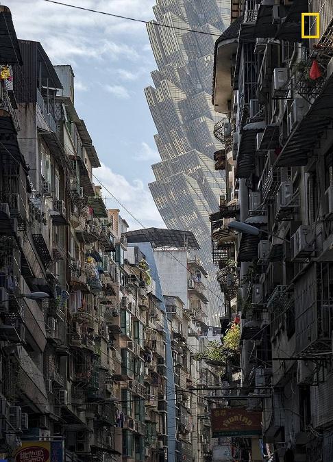 نمایی از هتل گرند لیسبوآ در جنوب شرق چین
