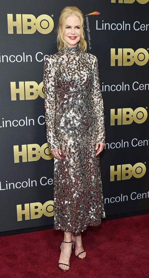 مدل لباس نیکول کیدمن Nicole Kidman در هفته مد از برند ژیوانشی Givenchy