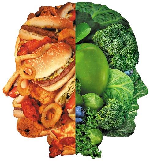 سبزیجات,سبزیجات و فست فود