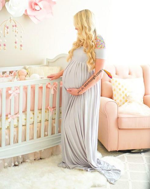 لباس بارداری خاکستری