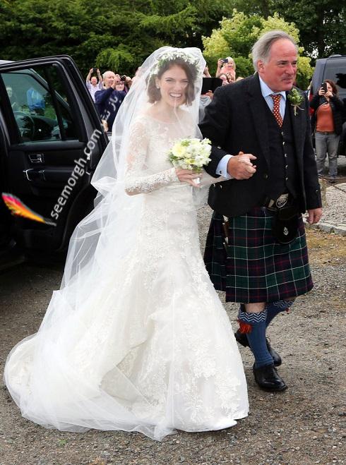 لباس عروس,مدل لباس عروس,لباس عروس رز لزلی,قیمت لباس عروس