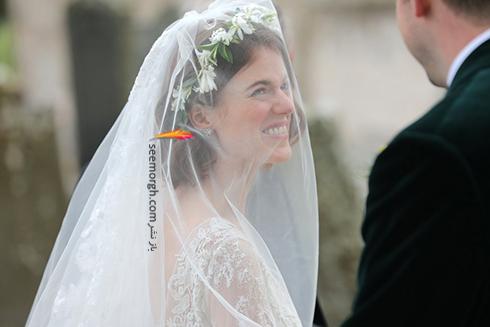 عروسی رز لزلی,عروسی کیت هرینگتون,عروسی رز لزلی Rose Leslie و کیت هرینگتون Kit Harington بازیگران Game Of thrones در اسکاتلند