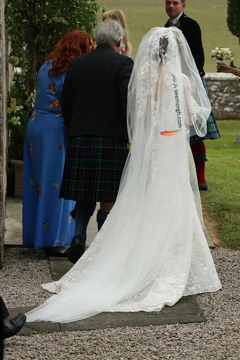 مراسم ازدواج رز لزلی,مراسم ازدواج کیت هرینگتون,مراسم ازدواج بازیگران Game Of thrones,مراسم ازدواج رز لزلی Rose Leslie و کیت هرینگتون Kit Harington در اسکاتلند