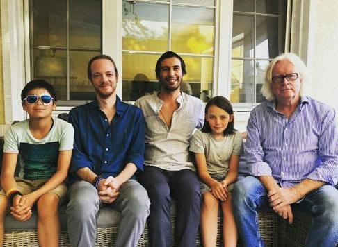 ديدار خانواده استقلالي با شفر و پسرش در آلمان
