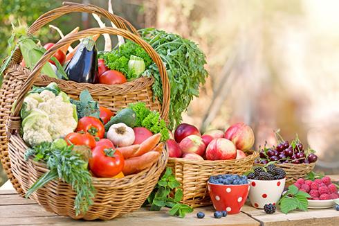 تغذیه تابستان,میوه و سبزی