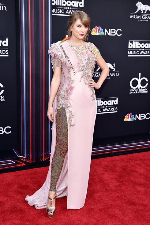 مدل لباس تیلور سوئیفت Taylor Swift در مراسم جوایز بیلبورد 2018 Billboard Music Awards