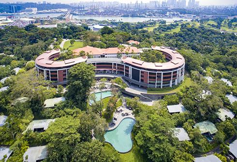 هتل کاپلا سنتوزا hotel kayla sentosa محل دیدار ترامپ و کیم جونگ اون - عکس شماره 1