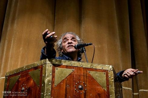اصغر همت در جلسه انتخاب هیئت مدیره خانه تئاتر