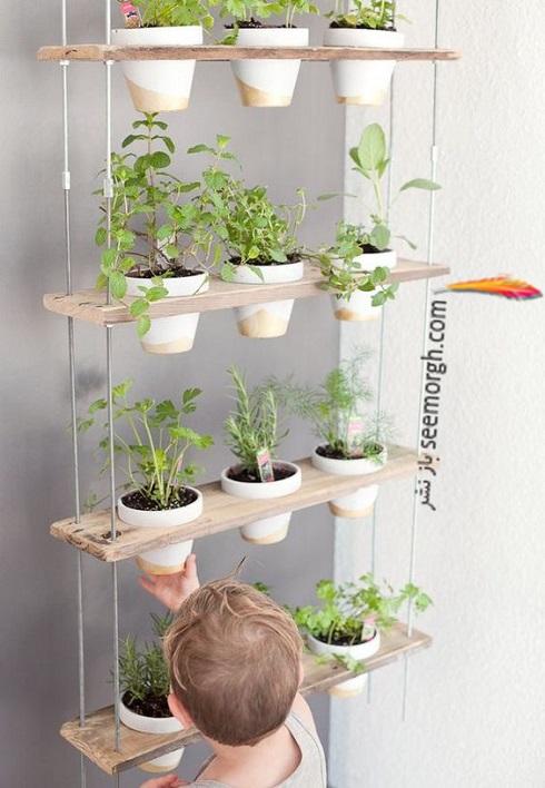 باغچه عمودی برای آپارتمان کوچک - عکس شماره 6