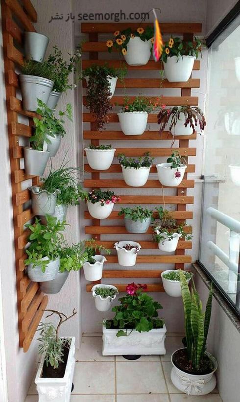 باغچه عمودی برای آپارتمان کوچک - عکس شماره 11
