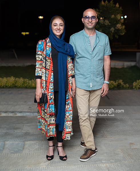 ویدا جوان و همسرش در اکران سهیلا شماره 17