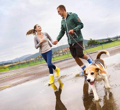 پیاده روی,زن و شوهر در حال پیاده روی,پیاده روی دختر و پسر