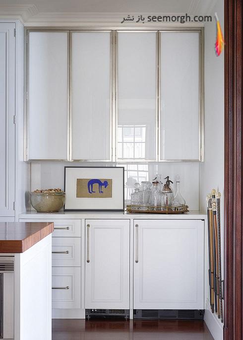مدل کابینت سفید 2018 - مدل شماره 1