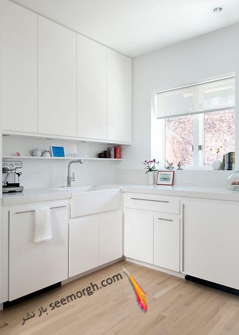 مدل کابینت سفید 2018 - مدل شماره 4