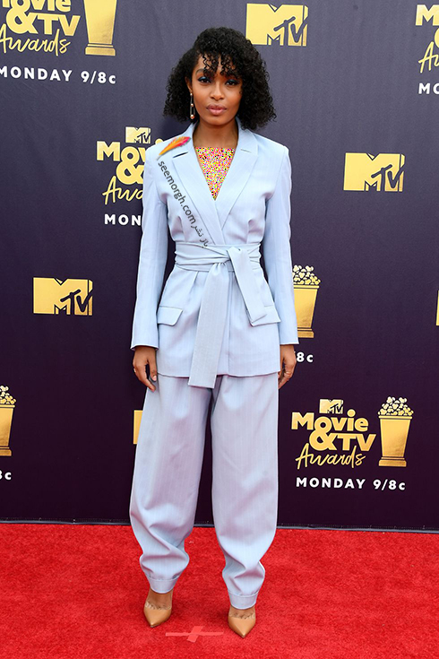 مدل لباس در MTV Awards 2018 - یارا شهیدی Yara Shahidi
