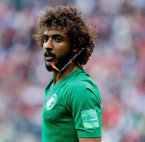 مدل مو,مدل مو بازیکنان در جام جهانی,مدل مو بازیکنان در جام جهانی 2018,مدل مو یاسر الشهرانی Yasir Al Shahrani از تیم عربستان سعودی در جام جهانی 2018