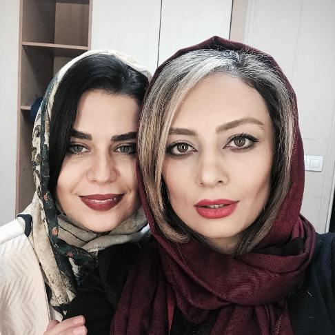یکتا ناصر و دوستش