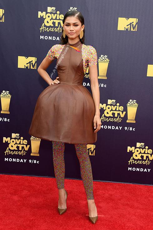 مدل لباس در MTV Awards 2018 - زندیا Zendya