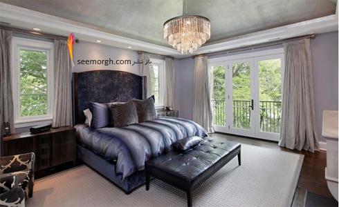 رنگ اسوطوخودوس در دکوراسیون داخلی,دکوراسیون اتاق خواب,رنگ در دکوراسیون داخلی اتاق خواب