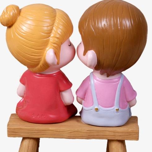 بوسیدن، عروسک