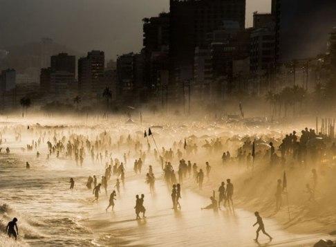 ساحل ریودوژانیرو در برزیل
